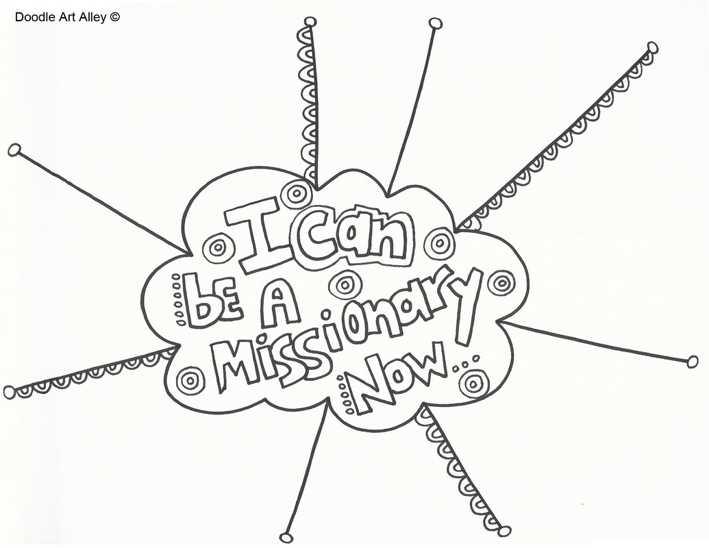 missions coloring pages - photo#32