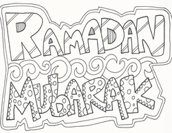 Ramadan Coloring Pages Religious Doodles