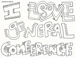 conference coloring pages General Conference   Religious Doodles conference coloring pages