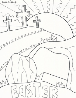Easter Coloring Pages For Kids Tag: 28 Astonishing Religious ... | 323x250
