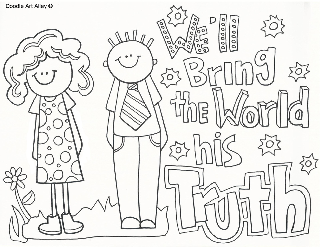 missionary coloring pages Missionary Work   Religious Doodles missionary coloring pages