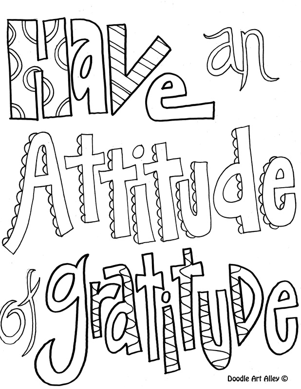 Free Coloring Pages Of Positive Behavior