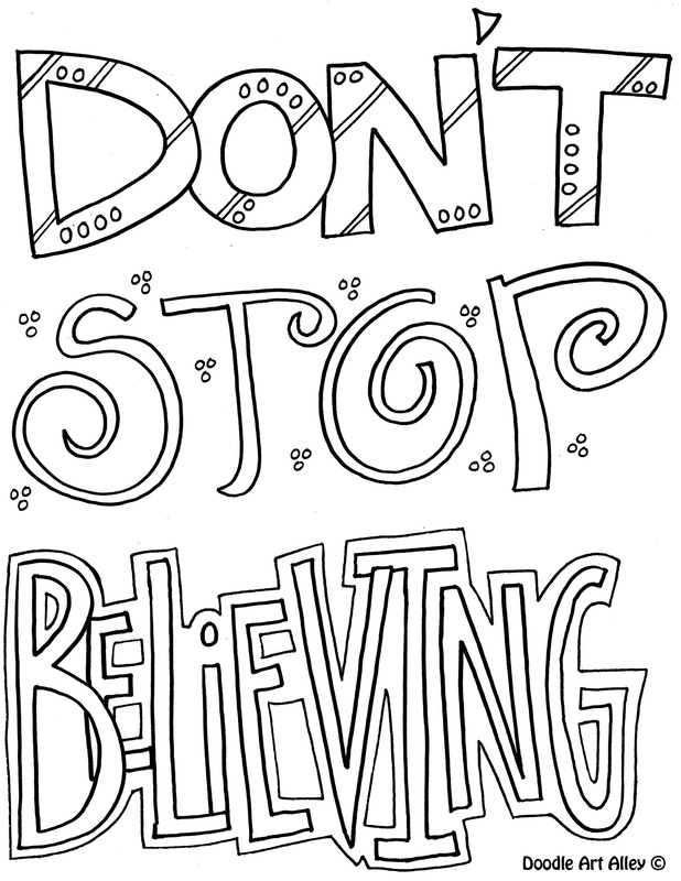 picture - Inspirational Word Coloring Pages