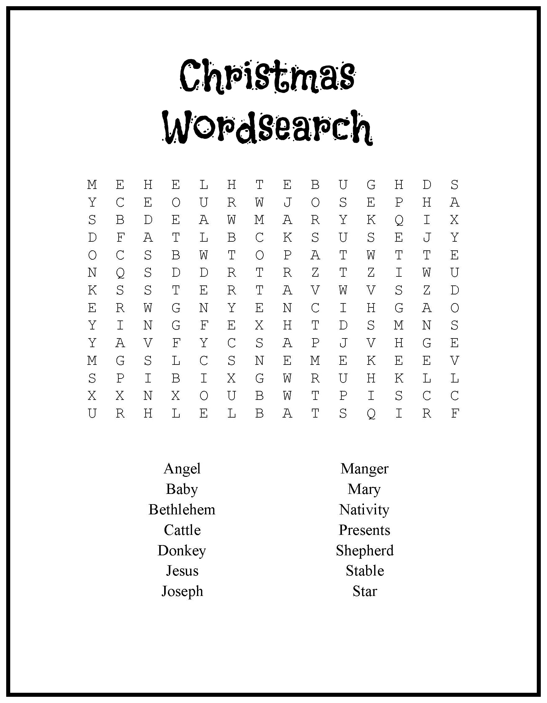 christmas coloring pages religious doodles christmaswordsearch christmas coloring pages religious doodlesprintable nativity word search