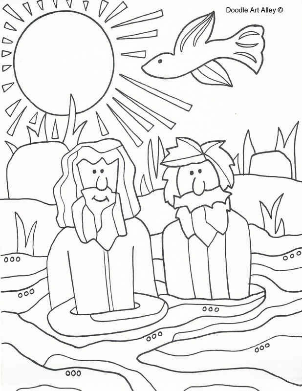 New Testament Stories - Religious Doodles